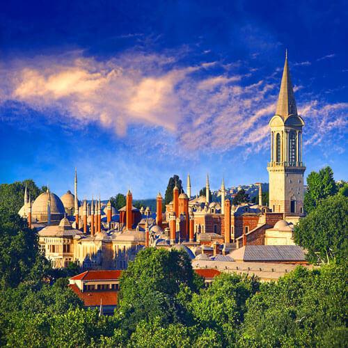 دیدن از کاخ توپ کاپی در تور استانبول