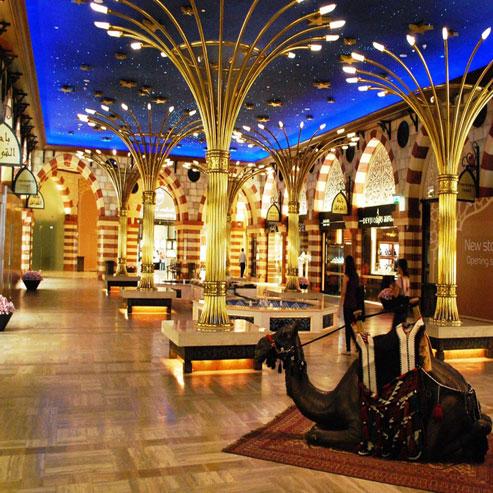 بازار طلا و جواهرات دبی