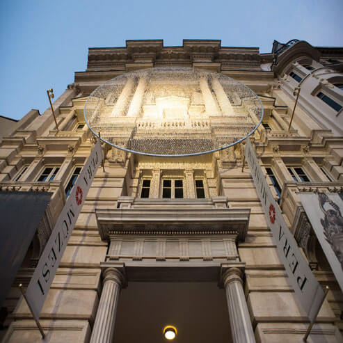 دیدن از موزه پرا در تور استانبول